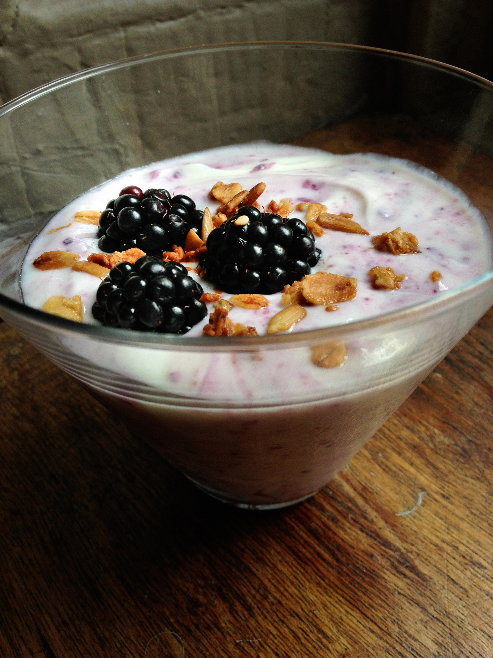 blackberry fool ingredients 2 ½ cups fresh blackberries 2 cups