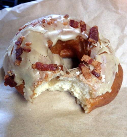 maple bacon doughnut